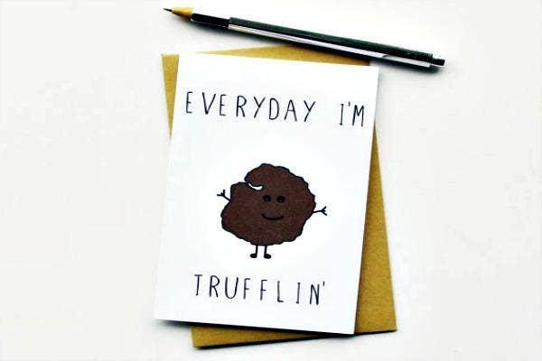 Truffle card.