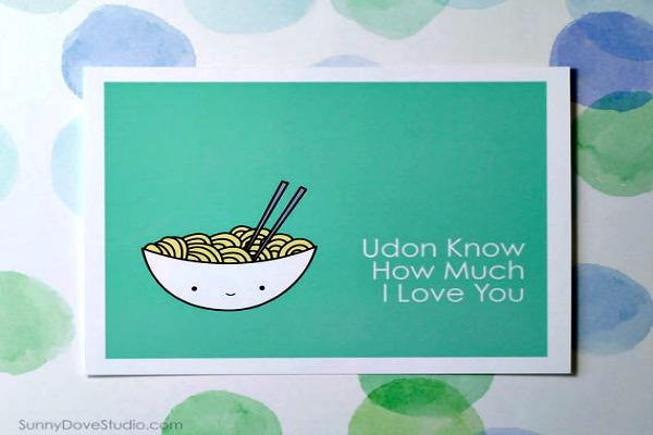 Bowl of Udon noodles.