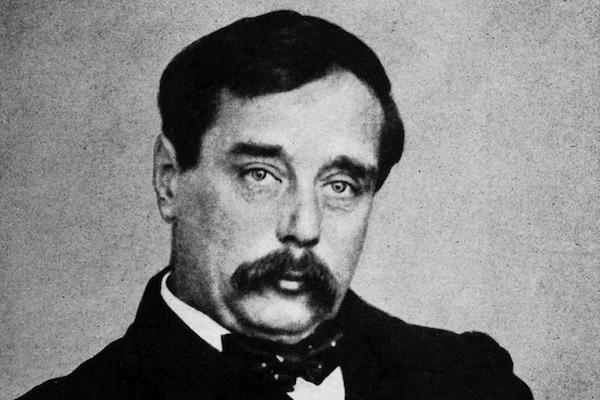 HG Wells from Wikimedia