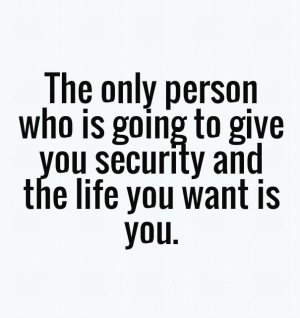 Image result for depend on yourself quote