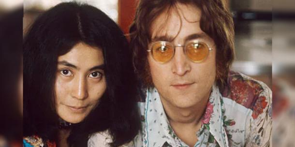 John Lennon and Yoko Ono love story