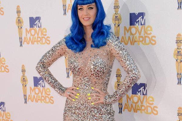 Katy Perry Nearly Nude