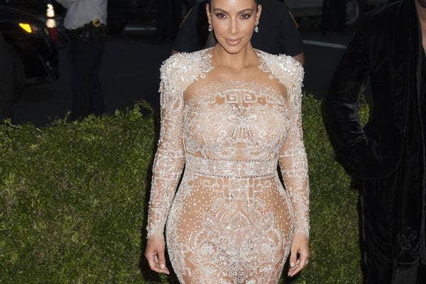 Kim Kardashian Nearly Nude