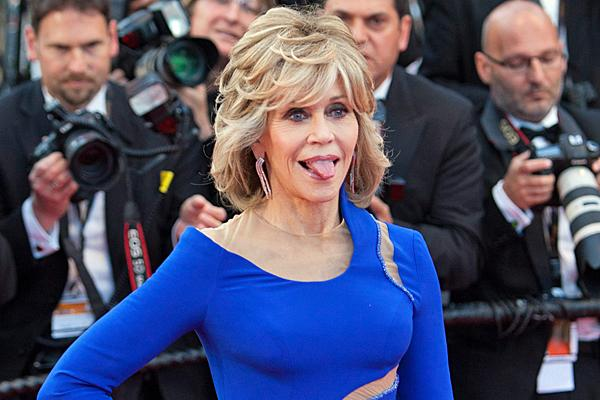 jane fonda cannes film festival 2015 blue dress