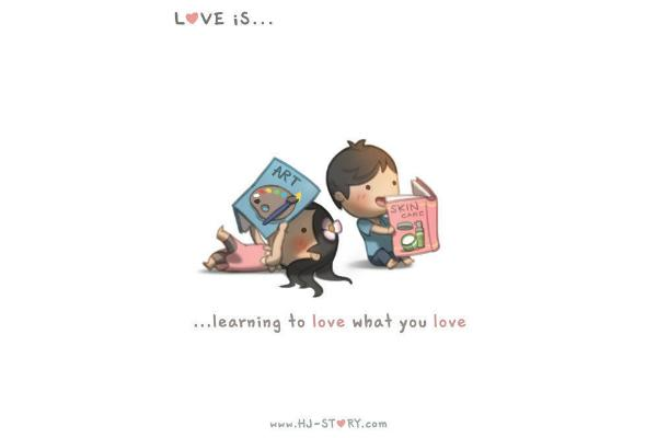 Love is learning.