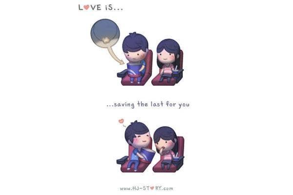 Love is saving.