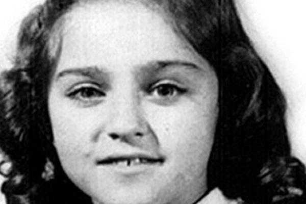 madonna as a kid
