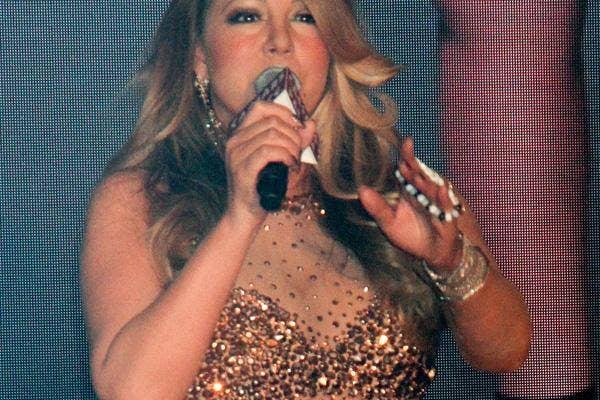Mariah Carey Nearly Naked