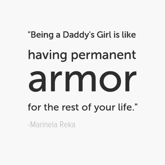 Marinela Reka Inspirational Father's Day Dad Quotes