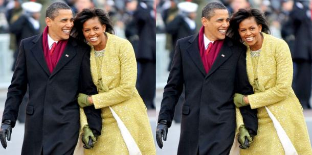 Michelle and Barack Obama love story