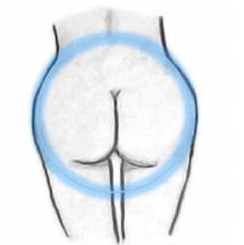 Round butt shape
