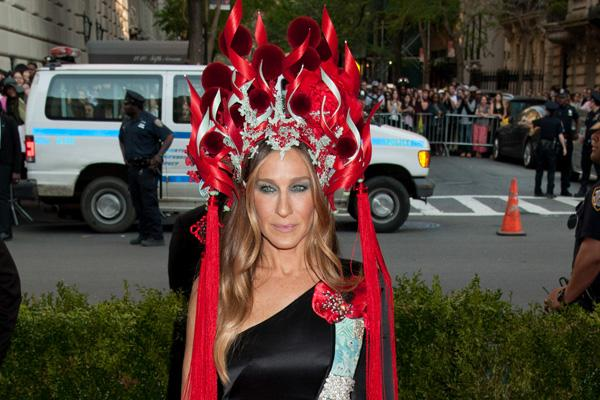 sarah jessica parker headdress