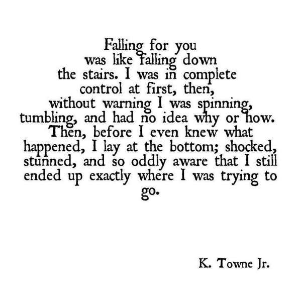 K. Towne Jr Instagram love poems