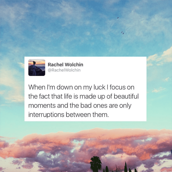 Rachel Wolchin Instagram Life Quotes