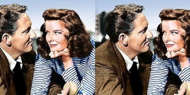 Spencer Tracy and Katharine Hepburn love story