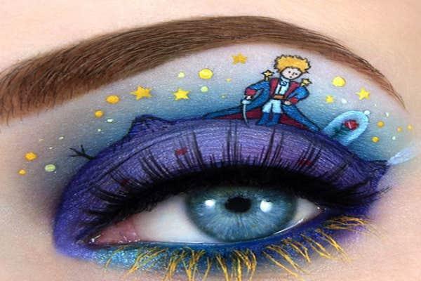 The Little Prince eye-art.