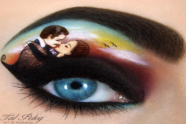 Gone with the wind eye-art.