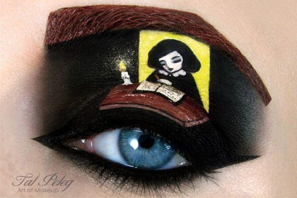 Anne Frank eye-art.