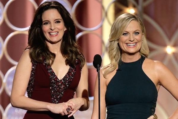 Tina Fey and Amy Poehler from The Golden Globes