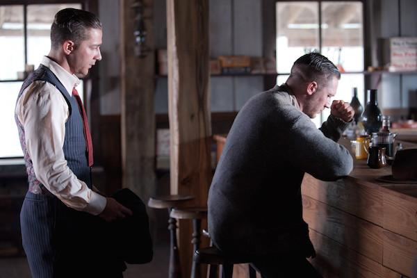 Tom Hardy and Shia LaBeouf from Lawless