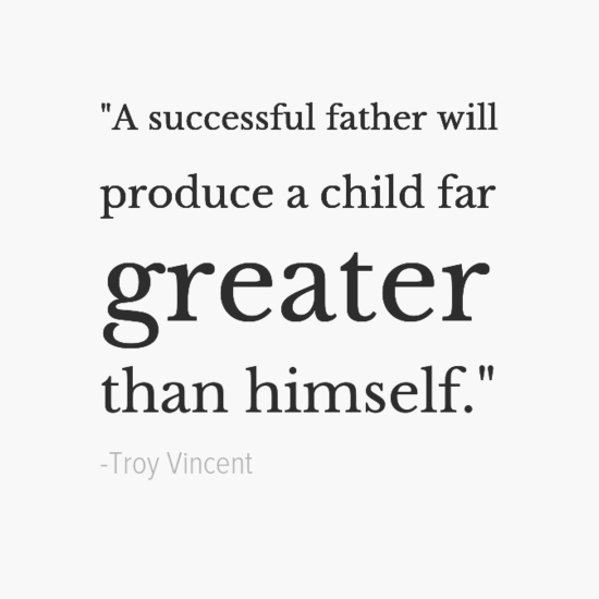 Troy Vincent Inspirational Father's Day Dad Quotes