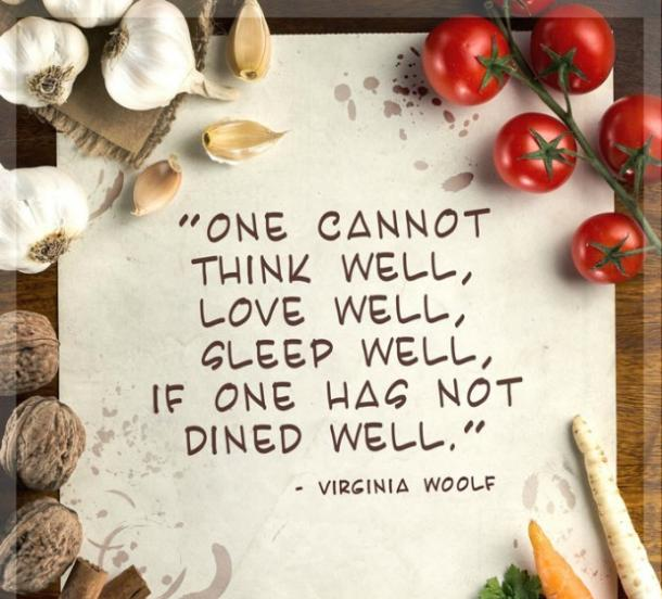 17 Irresistibly Delicious Love Quotes About Food | YourTango