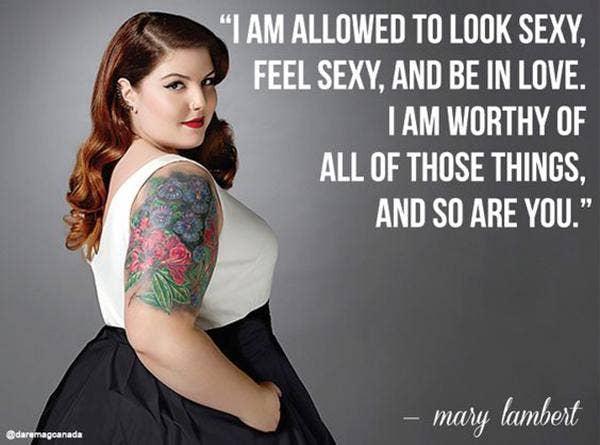 mary lambert quote