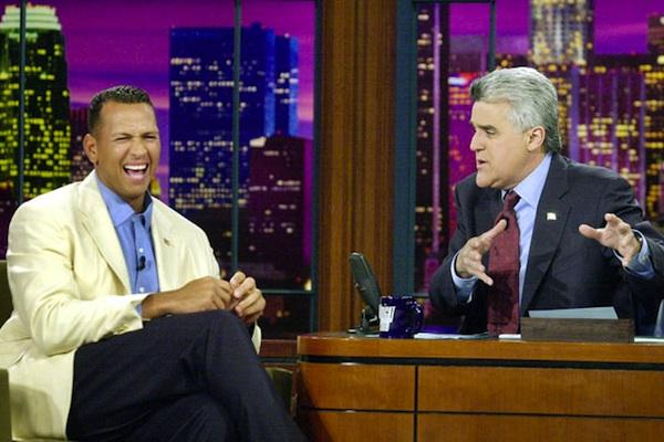 Alex Rodriguez from The Tonight Show