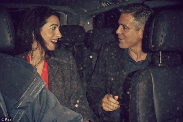 She let George Clooney woo her!