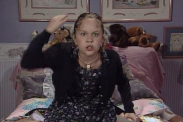 Amanda Bynes in All That on Nickelodeon