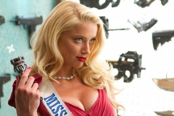 Amber Heard in Miss San Antonio