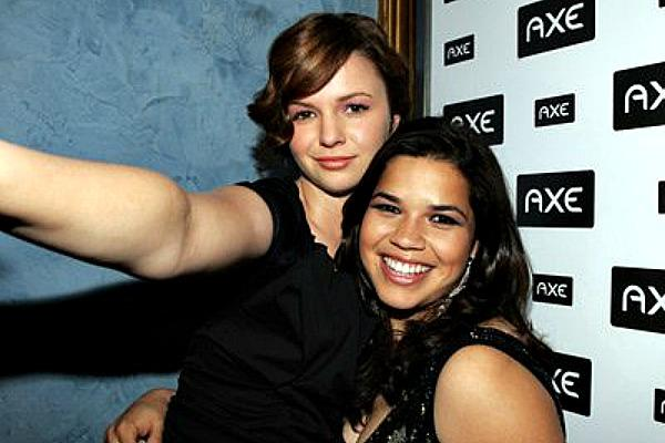 America Ferrera and Amber Tamblyn