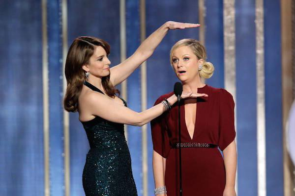 Amy Poehler and Tina Fey from The Golden Globes