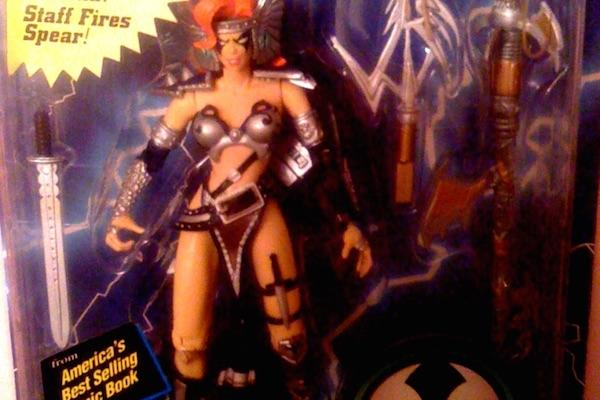 from MacFarlane Toys 6. Angela from the Spawn Action Figure Line