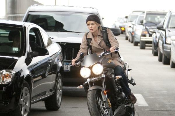 angelina jolie evelyn salt bike