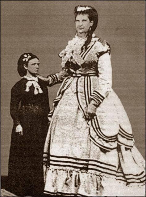 world's largest vagina Anna Haining Bates