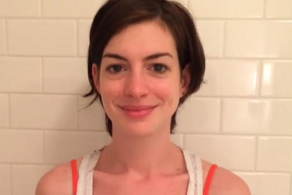 anne hathaway, anne hathaway without makeup, anne hathaway instagram