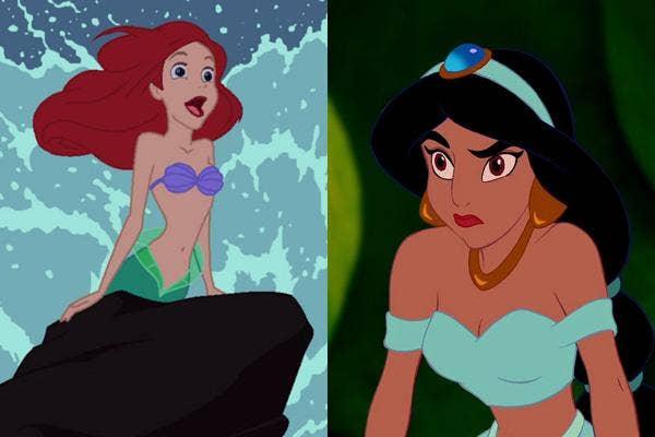 ariel, the little mermaid, little mermaid ariel, aladdin, princess jasmine, aladdin princess jasmine, disney princess, disney ariel, disney little mermaid, disney aladdin, disney princess jasmine, disney cartoons, disney princesses, love, love lessons, di
