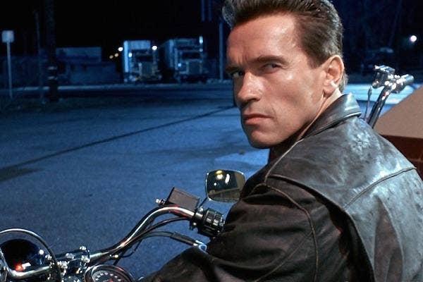 Arnold Schwarzenegger from Terminator 2