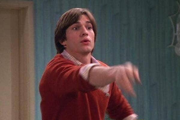 Ashton Kutcher on that 70s show