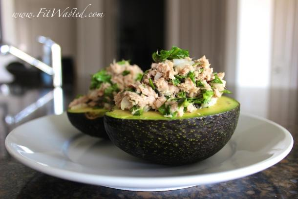 "photo: <a href=""http://fitwasted.com/tuna-stuffed-avocados/ "" target=""_blank"">Fit Wasted </a>"