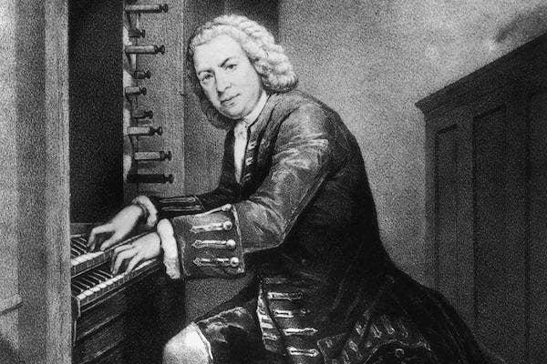 Johann Sebastian Bach from Wikimedia