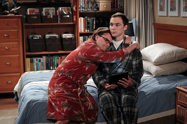 Johnny Galecki and Jim Parsons