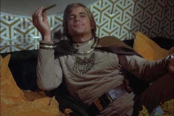 Dirk Benedict from Battlestar Galactica