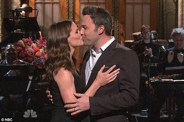 Ben Affleck and Jennifer Garner from SNL