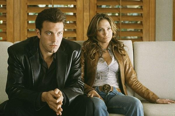 Ben Affleck and Jennifer Lopez from Gigli