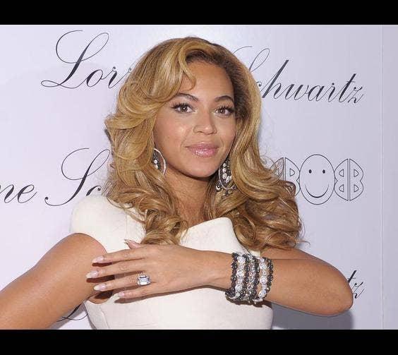 Beyonce Knowles' Ring