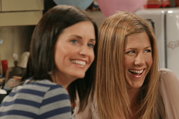 Celebrity Female Best Friends Courteney Cox Jennifer Aniston Monica Gellar Rachel Green