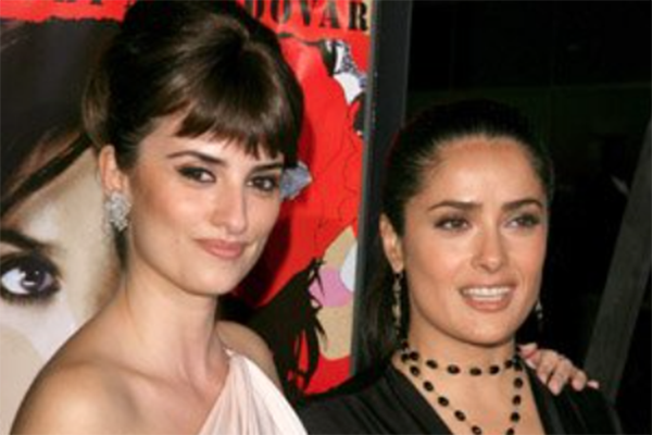 Celebrity Female Best Friends Salma Hayak and Penélope Cruz