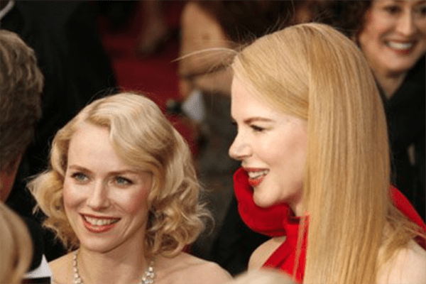 Celebrity Female Best Friends Nicole Kidman and Naomi Watts